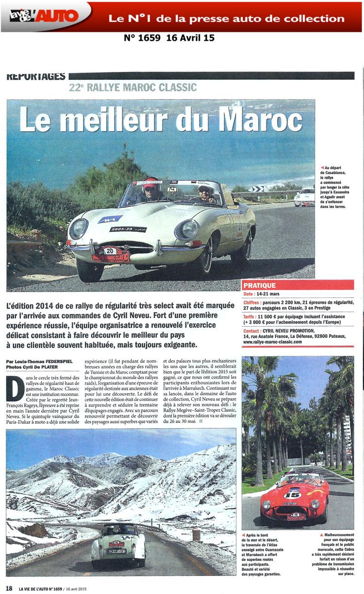 la vie de l 39 auto 16 avril 2015 rallye maroc classic la route du coeur. Black Bedroom Furniture Sets. Home Design Ideas